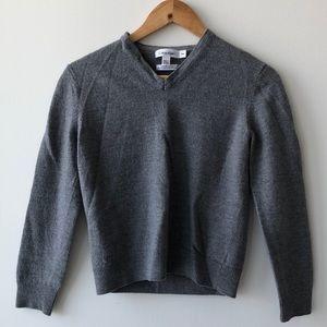 Calvin Klein Extra Fine Merino Wool V Neck Sweater